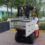 Chinaîn Hîdrolîk icientêker Forklift Forklift Attachments Multi Purpose Clamp