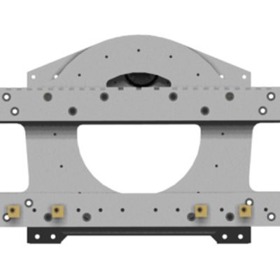 Drum Rotator Forklift Attachment