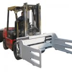 Fork Truck Rotterdam Bale Clips With Forklift