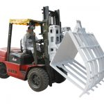 Qertelê Kêmbûna Kîmyewî ya Forklift Hinged Broke Handler