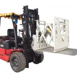 Attklift Pusher Attachment, Forklift Push Pull Attachment