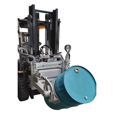 Forklift Hydraulic Forklift 55 Ggallon Drum Clamp for Forklift