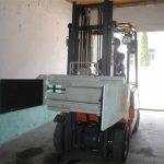 Kembera pir-armancê ya Forklift
